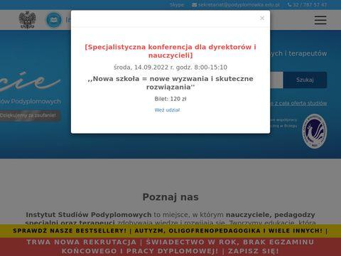 Studia.slask.pl studia podyplomowe dla nauczycieli
