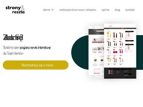 Stronyireszta.pl dla małych i średnich firm