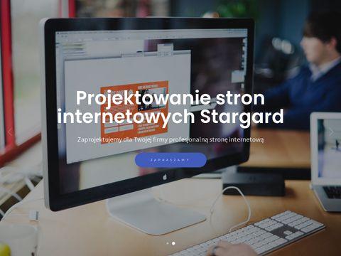 Strony internetowe Stargard Goldweb