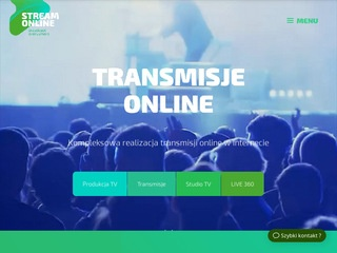 StreamOnline - transmisje Warszawa