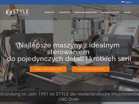Stylecncmachines.pl - tokarki CNC
