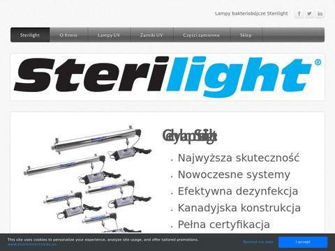 Sterilight - nowoczesne lampy bakteriobójcze