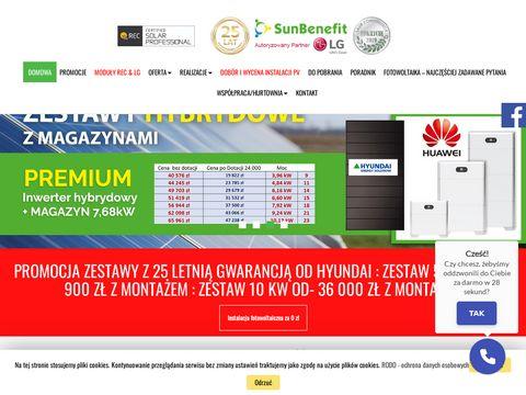 Sunbenefit.pl - instalacje fotowoltaiczne Śląsk