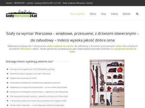 Szafywarszawa24.pl przesuwne