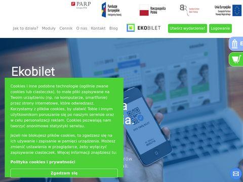 System sprzedaży biletów Ekobilet