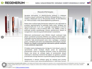 Regenerum serum do rzęs