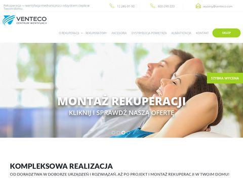 Rekuperacjawdomu.pl wentylacja mechaniczna