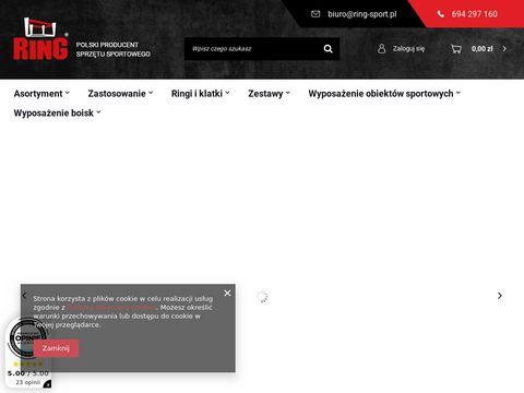 Worek treningowy ring-sport.pl