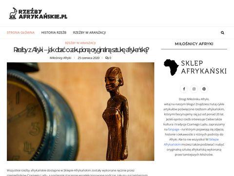 Rzezbyafrykanskie.pl i figurki