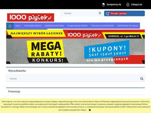 1000lazienek.pl - projekty łazienek